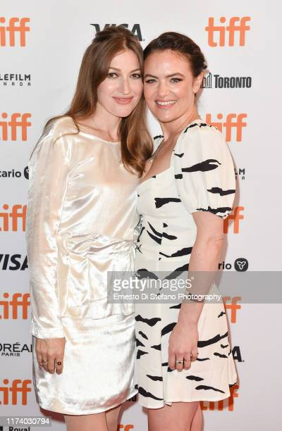 Kelly Macdonald and Julia Stone attends the Dirt Music premiere during the 2019 Toronto International Film Festiva at The Elgin on September 11 2019...