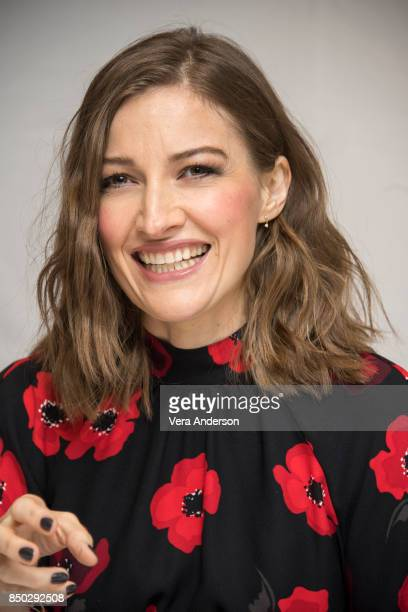 Kelly Macdonald at the Goodbye Christopher Robin Press Conference at the Langham Hotel on September 19 2017 in London England