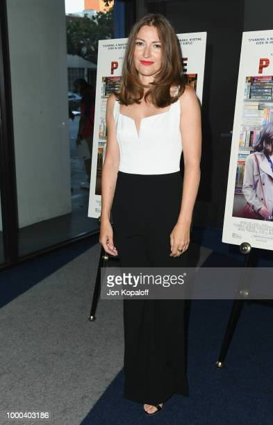 Kelly Macdonald attends premiere of Sony Pictures Classics' Puzzle at Writers Guild Theater on July 16 2018 in Beverly Hills California
