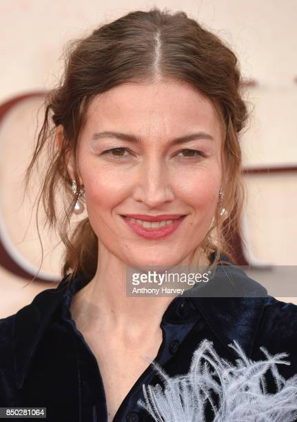 Kelly Macdonald attends the 'Goodbye Christopher Robin' World Premiere held at Odeon Leicester Square on September 20 2017 in London England