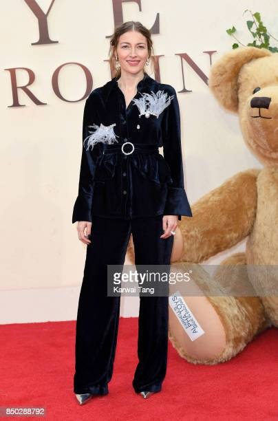 Kelly Macdonald attends the World Premiere of 'Goodbye Christopher Robin' at Odeon Leicester Square on September 20 2017 in London England