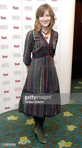 Kelly MacDonald during 2005 Women in Film and Television Awards at Hilton Park Lane in London Great Britain