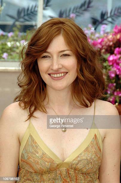 Kelly Macdonald during 2007 Cannes Film Festival No Country for Old Men Photocall at Palais des Festivals in Cannes France