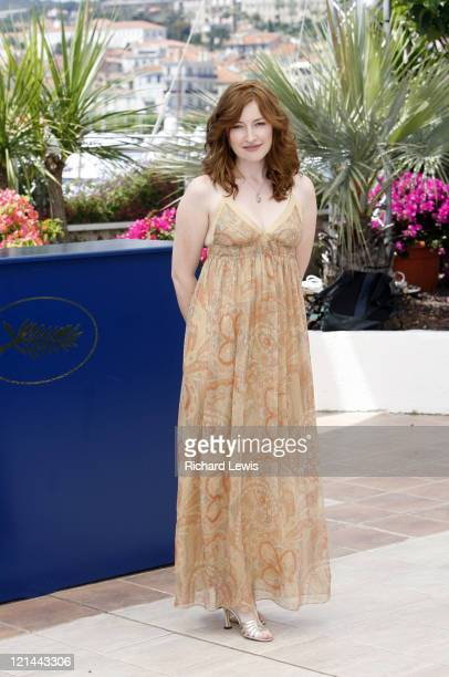 Kelly Macdonald during 2007 Cannes Film Festival 'No Country for Old Men' Photocall at Palais des Festivals in Cannes France