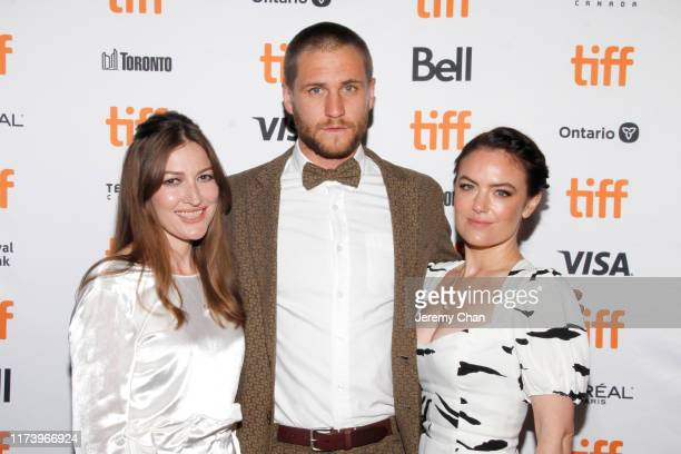 Kelly Macdonald George Mason and Julia Stone attend the Dirt Music premiere during the 2019 Toronto International Film Festival at The Elgin on...