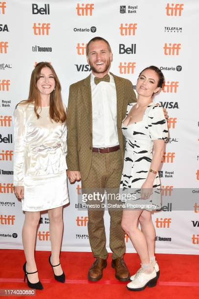 Kelly Macdonald George Mason and Julia Stone attends the Dirt Music premiere during the 2019 Toronto International Film Festiva at The Elgin on...