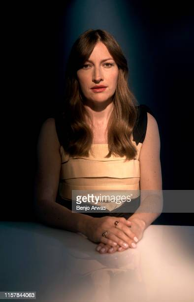 Kelly Macdonald of BritBox's 'The Victim' poses for a portrait during the 2019 Summer Television Critics Association Press Tour at The Beverly Hilton...