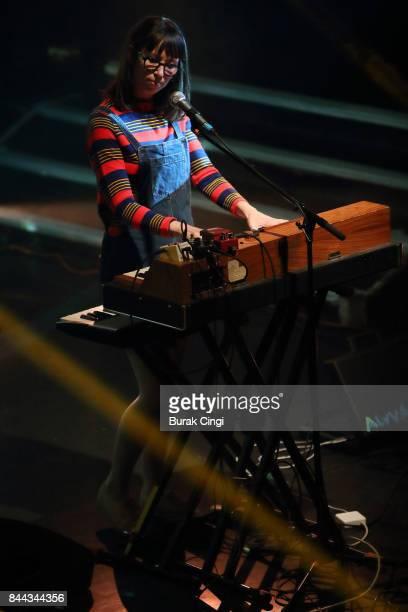 Kelly MacLellan of Alvvays performs at KOKO on September 8 2017 in London England