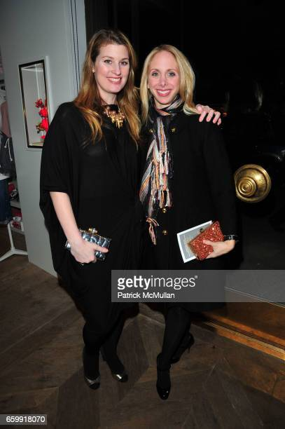 Kelly Mallon and Kara Glazier attend CREWCUTS celebrate 'Mimi's Shoes' with the WILDLIFE CONSERVATORY SOCIETY at Crewcuts on Madison on December 16...