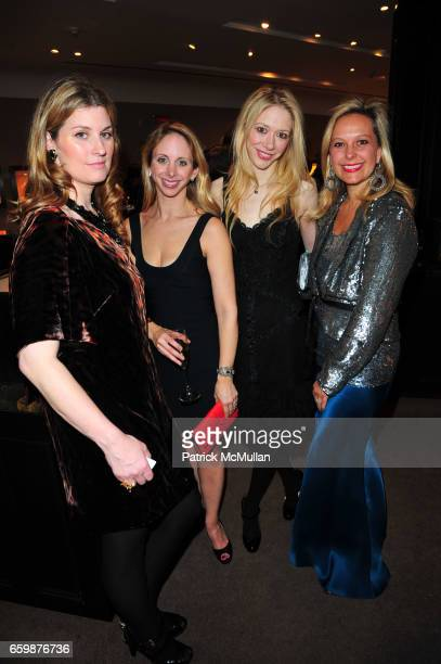 Kelly Mallon Lara Glazier Melissa Berkelhammer and Piage Hardy attend ASPREY and Associates Committee host benefit for LENOX HILL NEIGHBORHOOD HOUSE...