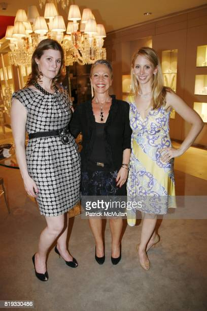 Kelly Mallon Leslie Hearne and Lara Glazier attend Madison Avenue PLATINUM JEWELS IN BLOOM Benefitting CENTRAL PARK CONSERVANCY at 32 Jewelry...