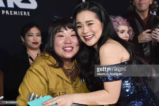 """Kelly Marie Tran arrives for the World Premiere of """"Star Wars: The Rise of Skywalker"""", the highly anticipated conclusion of the Skywalker saga on..."""