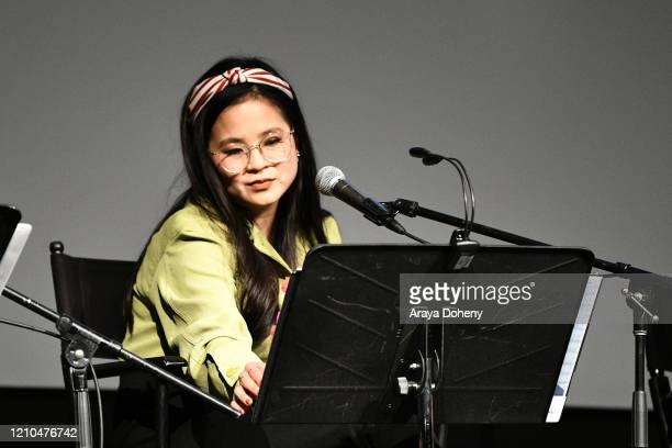 Kelly Marie Tran at the Film Independent screening series presents a live read of Eternal Sunshine Of The Spotless Mind at DGA Theater on March 04...
