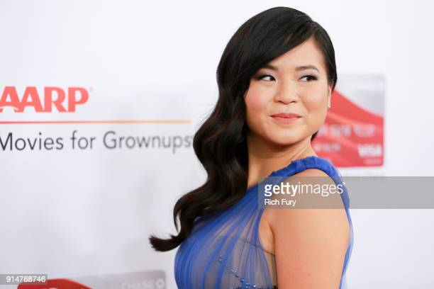 Kelly Marie Tran attends AARP's 17th Annual Movies For Grownups Awards at the Beverly Wilshire Four Seasons Hotel on February 5 2018 in Beverly Hills...