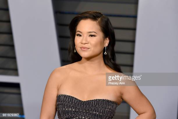 Kelly Marie Tran attends the 2018 Vanity Fair Oscar Party Hosted By Radhika Jones Arrivals at Wallis Annenberg Center for the Performing Arts on...
