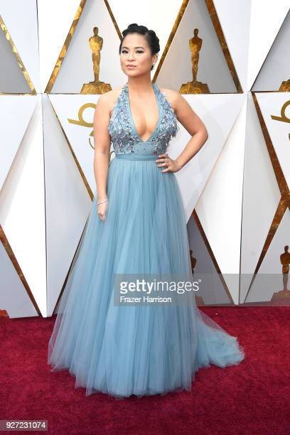 Kelly Marie Tran attends the 90th Annual Academy Awards at Hollywood Highland Center on March 4 2018 in Hollywood California