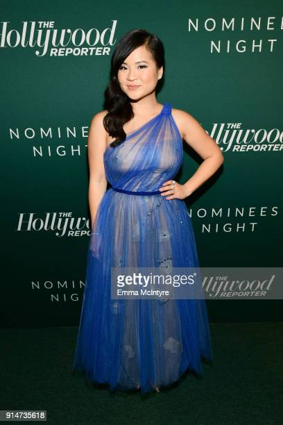 Kelly Marie Tran attends The Hollywood Reporter 6th Annual Nominees Night at CUT on February 5 2018 in Beverly Hills California