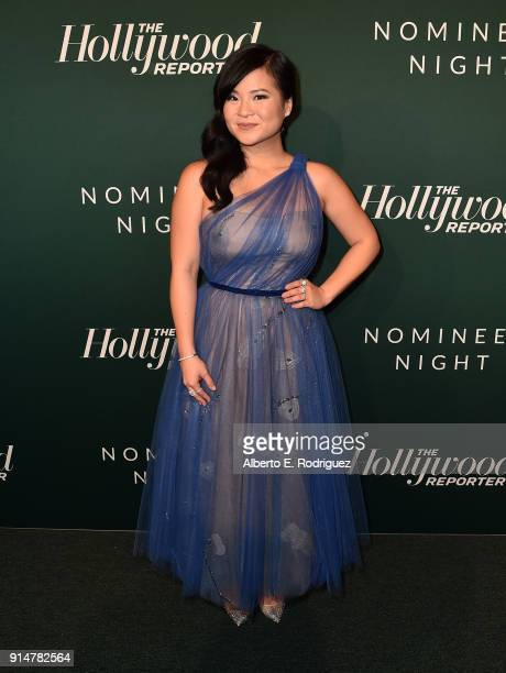 Kelly Marie Tran attends the Hollywood Reporter's 6th Annual Nominees Night at CUT on February 5 2018 in Beverly Hills California