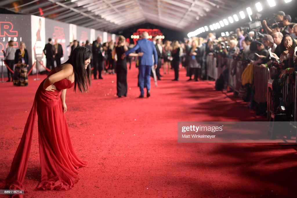 """Premiere Of Disney Pictures And Lucasfilm's """"Star Wars: The Last Jedi"""" - Red Carpet"""