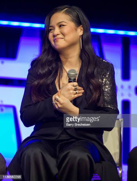 Kelly Marie Tran during the Star Wars Celebration at the Wintrust Arena on April 12, 2019 in Chicago, Illinois.