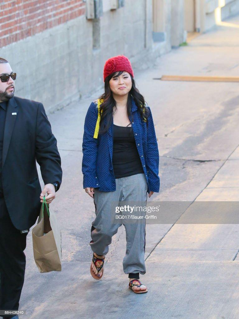 Celebrity Sightings In Los Angeles - December 01, 2017