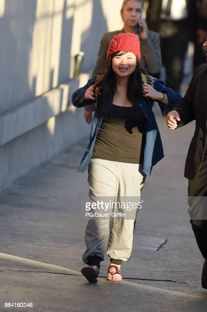 Kelly Marie Tran is seen on December 01 2017 in Los Angeles California