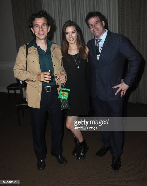 Kelly Mark Delcambre Kira Tidimore and Brian Sikoff attend the 43rd Annual Saturn Awards After Party held at The Castaway on June 28 2017 in Burbank...