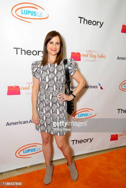 Kelly Martin attends Lupus LA's Hollywood Bag Ladies Luncheon on November 22 2019 in Beverly Hills California