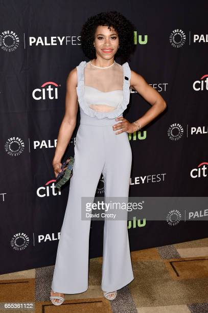 Kelly McCreary attends PaleyFest Los Angeles 2017 Grey's Anatomy at Dolby Theatre on March 19 2017 in Hollywood California