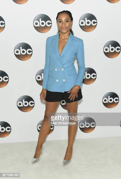 Kelly McCreary attends the 2017 Summer TCA Tour Disney ABC Television Group at The Beverly Hilton Hotel on August 6 2017 in Beverly Hills California