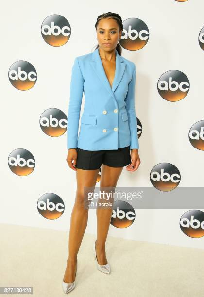 Kelly McCreary attends the 2017 Summer TCA Tour 'Disney ABC Television Group' on August 06 2017 in Los Angeles California