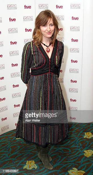 Kelly McDonald during 2005 Women in Film and Television Awards at London Hilton in London Great Britain