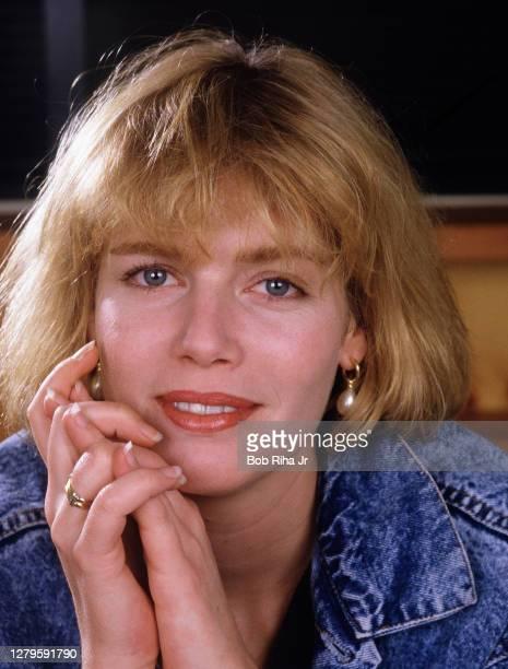 Kelly McGillis circ1987 in Los Angeles California n