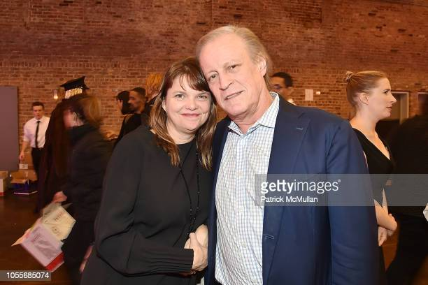 Kelly McLaughlin and Patrick McMullan attend the 2018 Aperture Gala at Cedar Lake on October 30 2018 in New York City