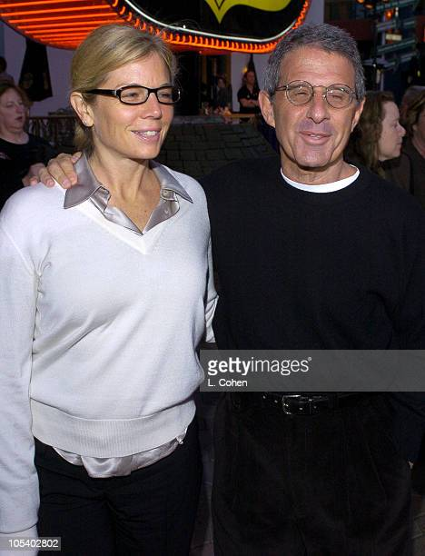 Kelly Meyer and Ron Meyer during Connie and Carla World Premiere Red Carpet at Universal Studios Cinema in Universal City California United States