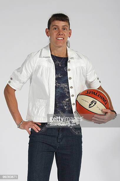 Kelly Miller of the Atlanta Dream poses during Media Day at Philips Arena on May 13 2010 in Atlanta Georgia NOTE TO USER User expressly acknowledges...