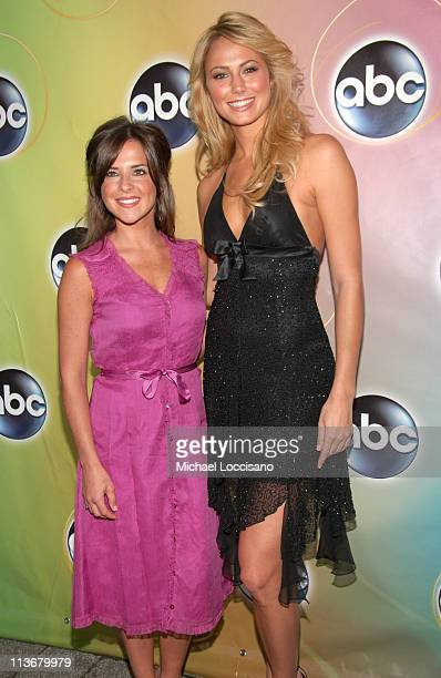 Kelly Monaco and Stacy Keibler during ABC Upfront 2006/2007 Arrivals at Lincoln Center in New York City New York United States