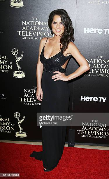 Kelly Monaco arrives at the 41st Annual Daytime Emmy Awards held at The Beverly Hilton Hotel on June 22 2014 in Beverly Hills California