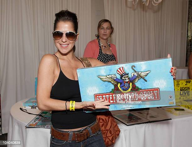 Kelly Monaco at Melanie Segal's MTV VMA Retreat Day 2 at SLS Hotel on September 11 2010 in Beverly Hills California