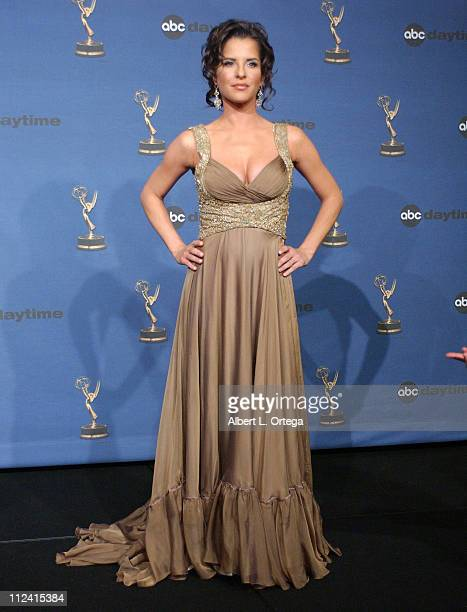 Kelly Monaco cohost during 33rd Annual Daytime Emmy Awards Press Room at Kodak Theatre in Hollywood CA United States