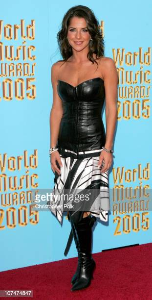 Kelly Monaco during 2005 World Music Awards Arrivals at Kodak Theater in Hollywood California United States