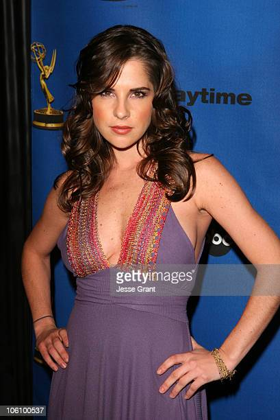 Kelly Monaco during 33rd Annual Daytime Emmy Nominations Dinner in Los Angeles California United States