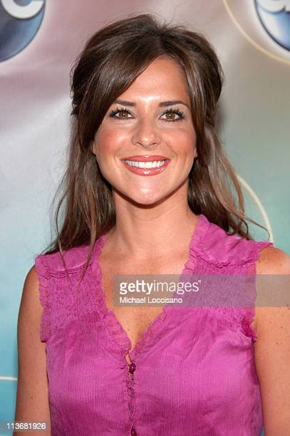 Kelly Monaco during ABC Upfront 2006/2007 Arrivals at Lincoln Center in New York City New York United States