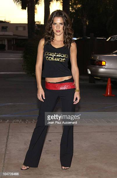 Kelly Monaco during ABC's 'Port Charles' Fan Day at Sportsman's Lodge in Studio City California United States