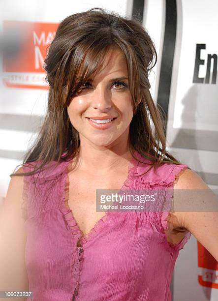 Kelly Monaco during Entertainment Weekly/Matrix Men 2006 Upfront Party at The Manor in New York City New York United States