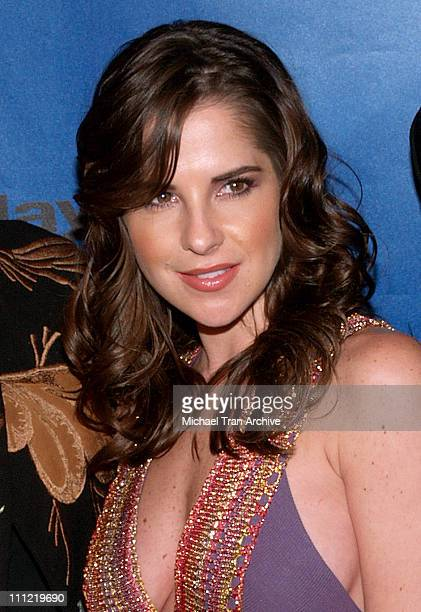 Kelly Monaco during The 33rd Annual Daytime Emmy Nominee Dinner Arrivals at Spago's in Beverly Hills California United States