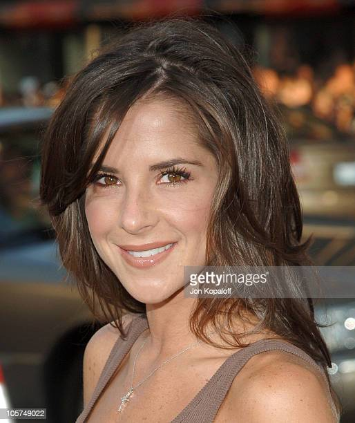 Kelly Monaco during 'The Dukes Of Hazzard' Los Angeles Premiere Arrivals at Grauman's Chinese Theatre in Hollywood California United States