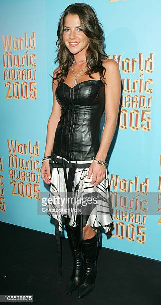 Kelly Monaco during World Music Awards Press Room at Kodak Theater in Hollywood California United States