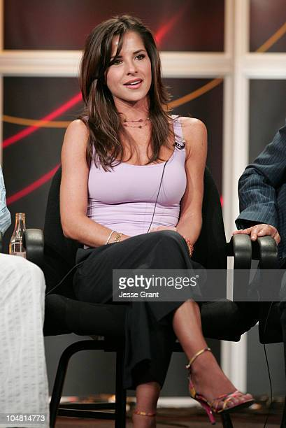 Kelly Monaco of 'Dancing with the Stars' during ABC 2005 Summer Press Tour at Beverly Hilton in Beverly Hills California United States