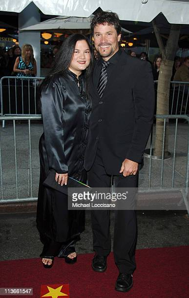 Kelly Moneymaker and Peter Reckell during 32nd Annual Daytime Emmy Awards Arrivals at Radio City Music Hall in New York City New York United States